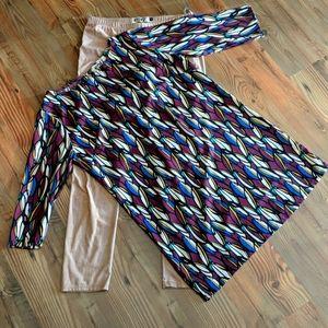 Envy tunic & pant set size L